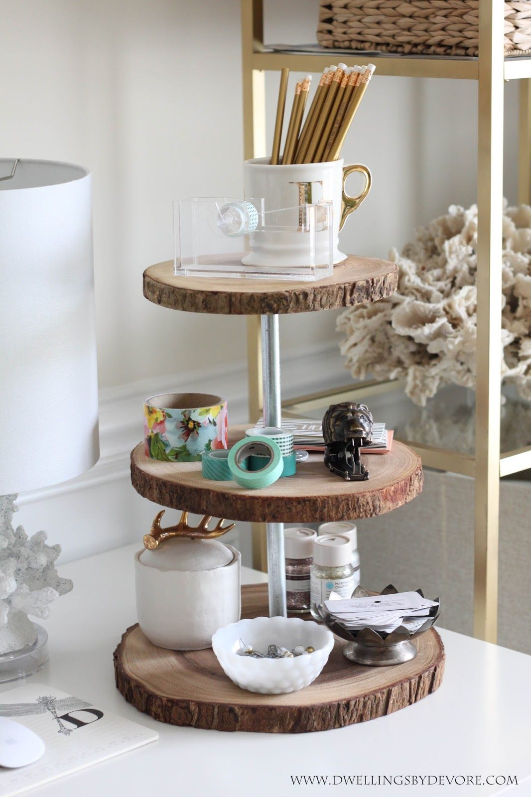 Tiered Serving Tray 3 Ways Tiered Serving Trays Wood Decor Home Decor Hacks