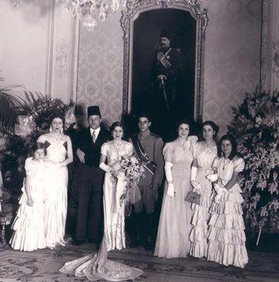 Egypt's Princess Fawzia marriage to Mohamed Reza Shah