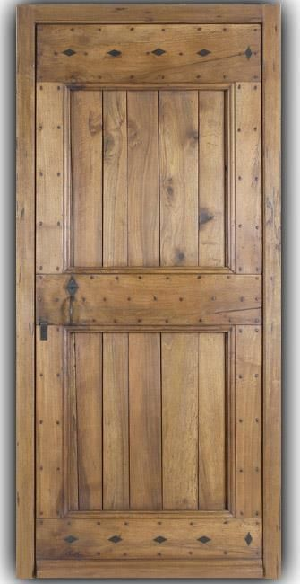 Porte d 39 entree bergerie fabrication porte d 39 entr e en for Fabrication porte en bois