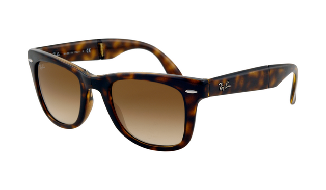 ray ban folding wayfarer sunglasses lite tort  folding wayfarer sunglasses rb4105 710/51 tortoise/light brown lens 50mm; 1000+ images about ray bans xxx on pinterest