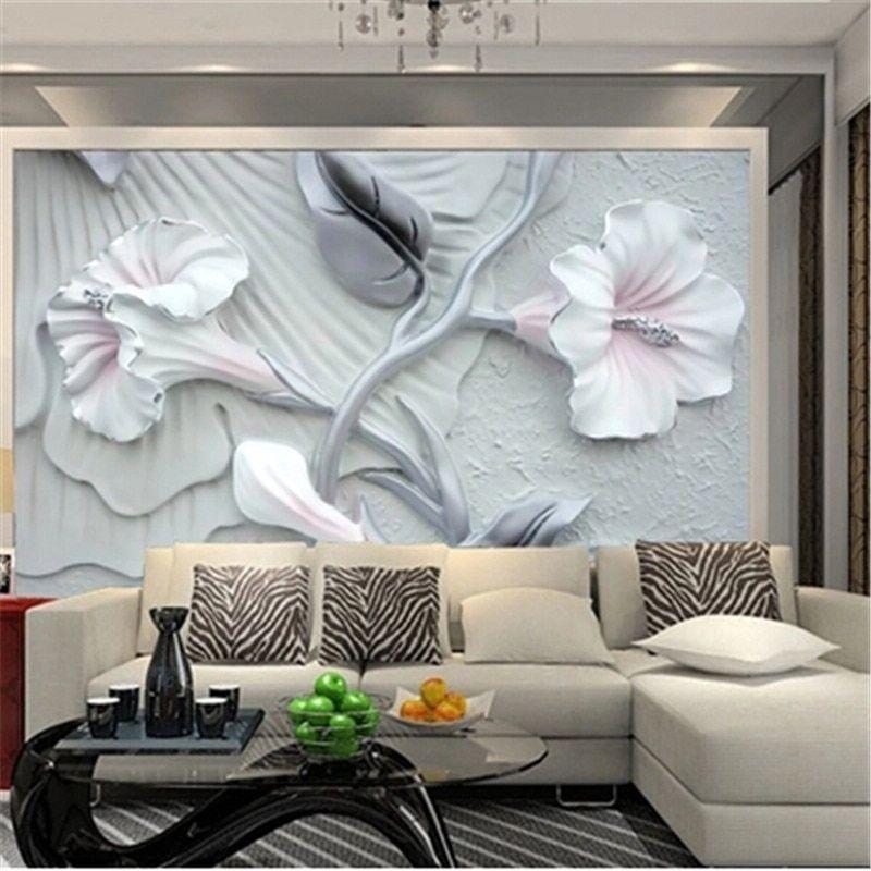 Custom 3d Photo Wallpaper For Living Room Painting Bedroom