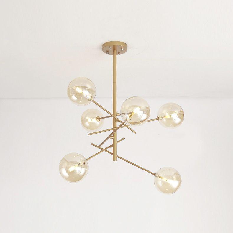 10 Easy Pieces Modern Glass Globe Chandeliers Bubble Chandelier