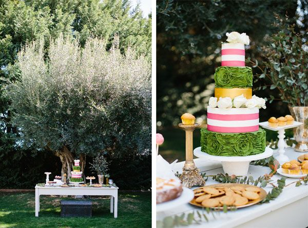 Pink dessert table, Indicakes · Photo, Kiss and Chips · Tendencias de Bodas Magazine