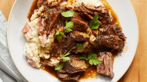 Slow Cooker Au Jus Pot Roast Recipe In 2020 Food