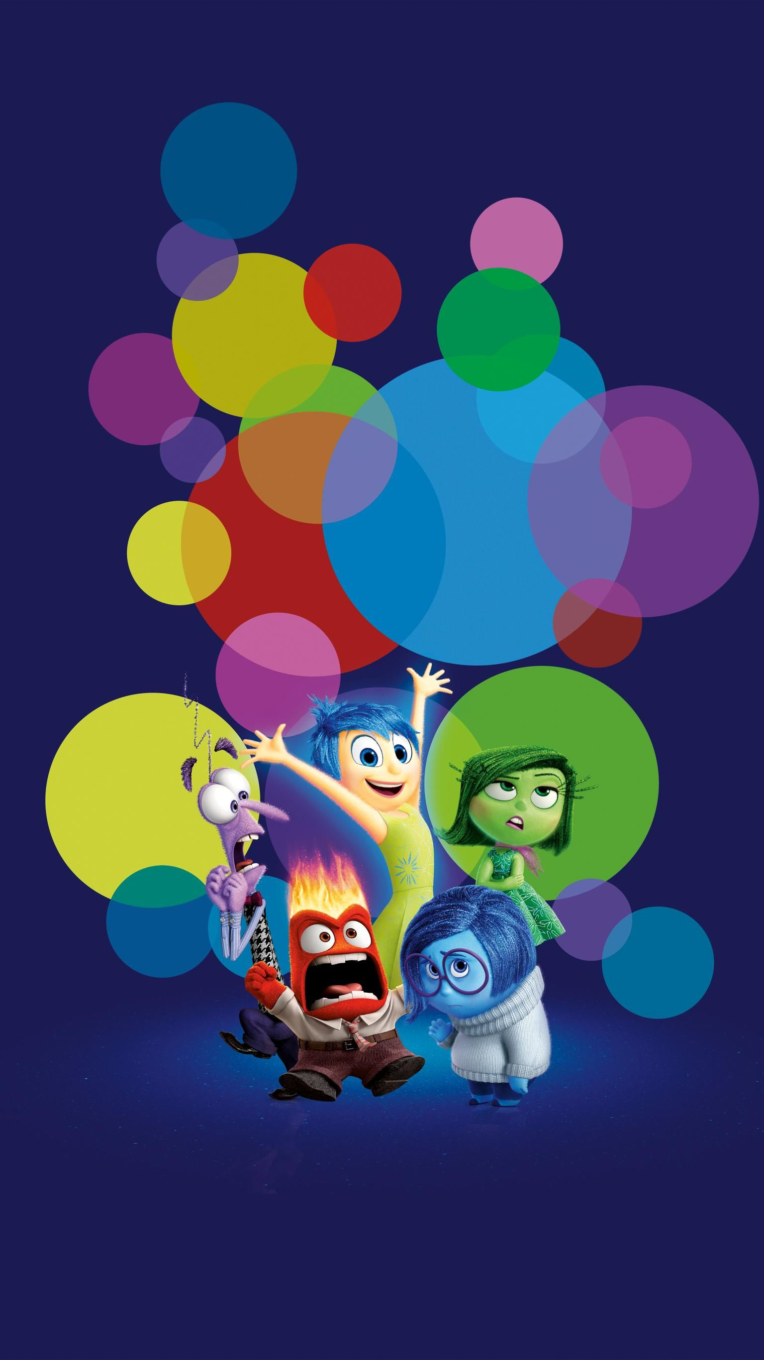 Inside Out 2015 Phone Wallpaper In 2020 Cute Disney Wallpaper