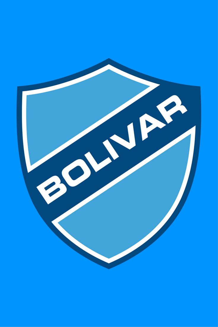 Club Bolívar La Paz Bolívia Football Logo Football Club Bolivar Club