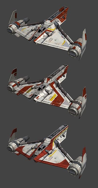 Republic Gunship Concept Art