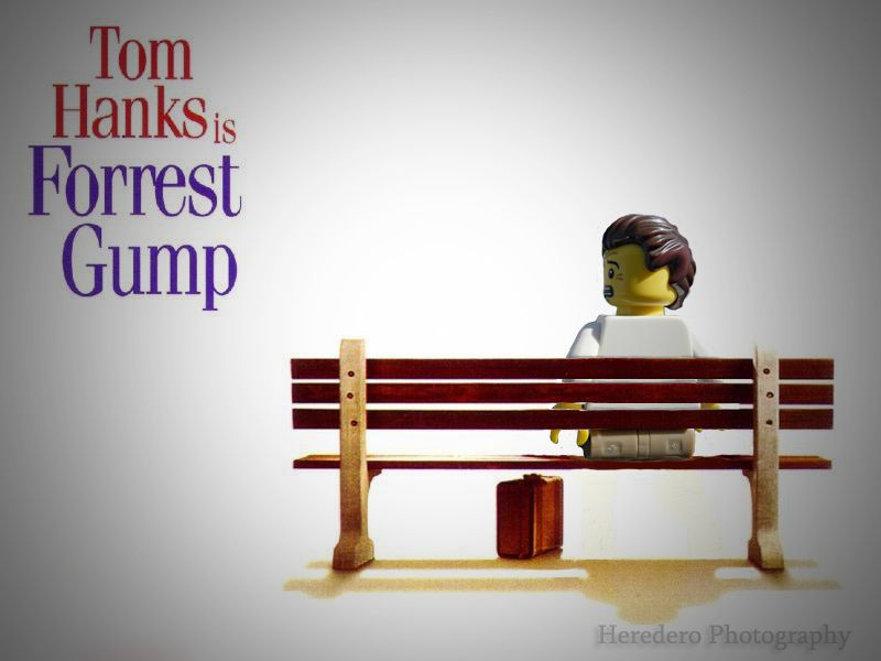 Forrest Gump (#08 Lego Movies Serie) | by Heredero 3.0