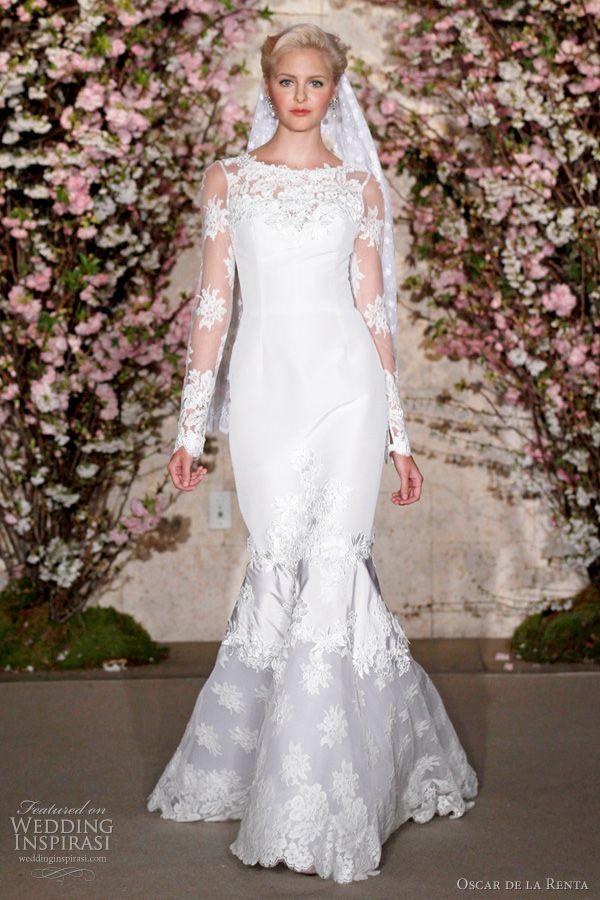 Oscar De La Renta Spring 2012 Wedding Dresses | Oscar de la Renta ...