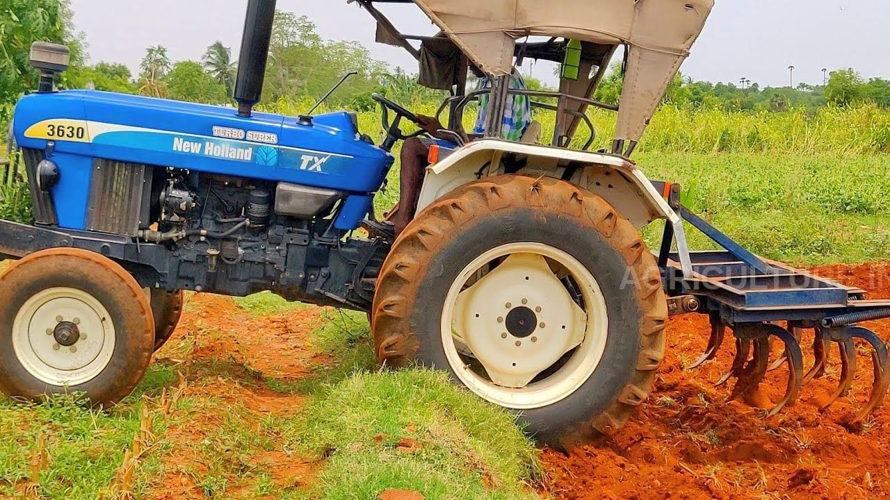 New Holland 3630 Tx Plus Cultivate Plow Performance New Holland