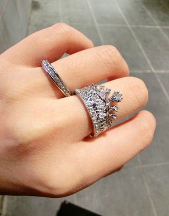 sweetheart crown ring !
