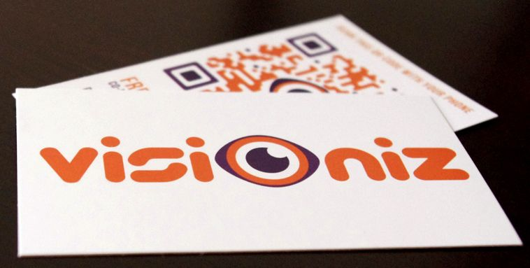 QR code business card idea - click picture to see 40 more QR Code