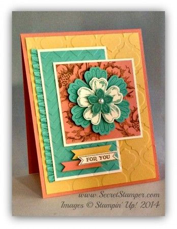 CAS Card with My Favorite Color Mixed Bunch, Flower Shop, Petite Petals, Stippled Blossoms, Itty Bitty BannersMixed Bunch, Flower Shop, Petite Petals, Stippled Blossoms, Itty Bitty Banners