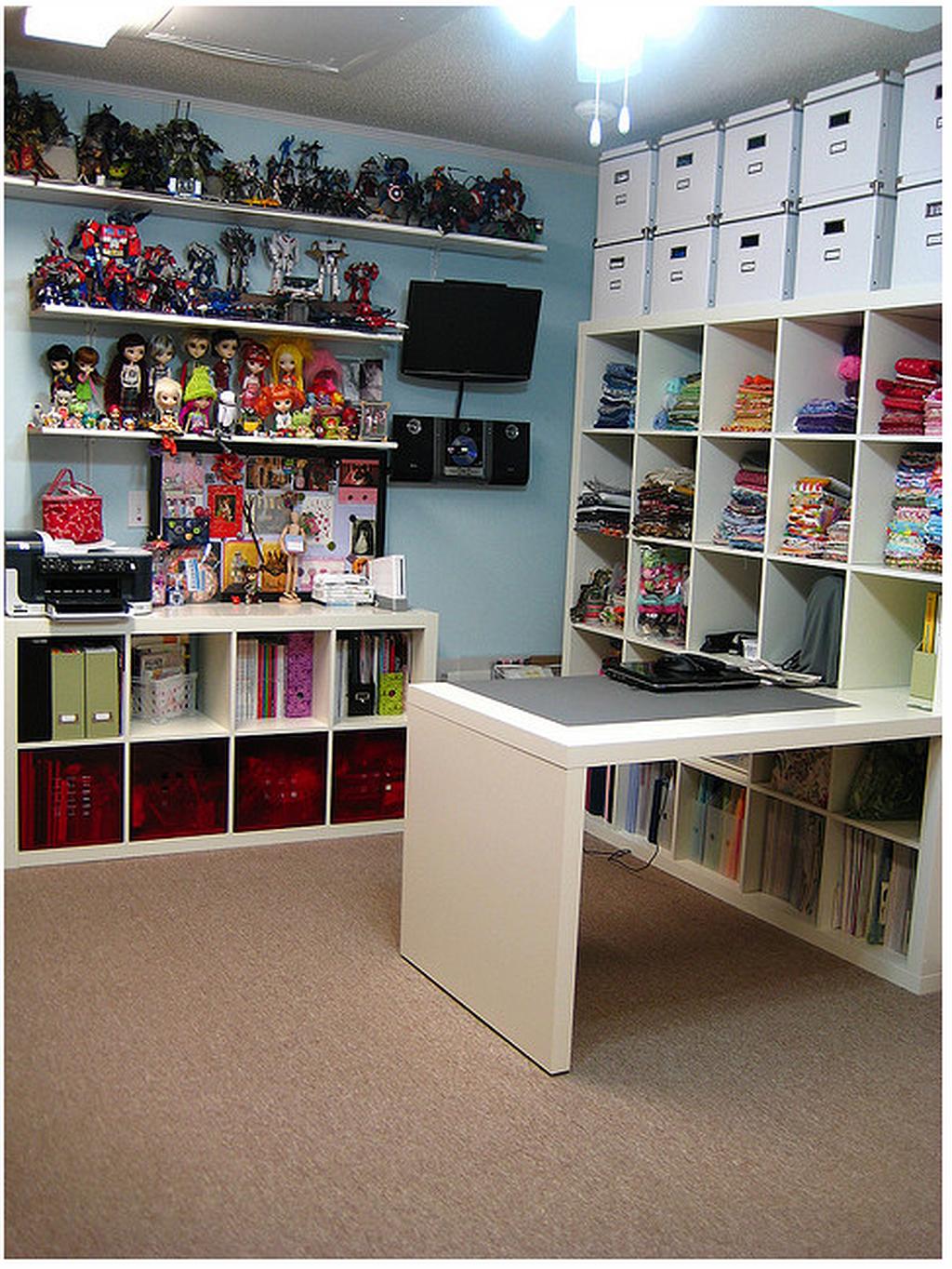 Craft room organization ideas for you per sistemare gli for Design della camera degli ospiti