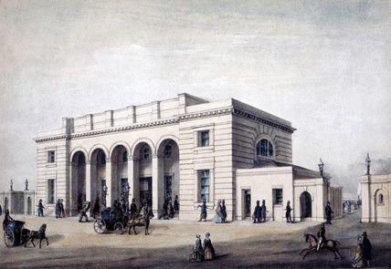 nine elms station London 1838