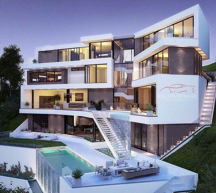 Luxury Homes Dream Houses, Modern Mansion