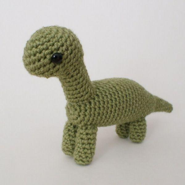 Brachiosaurus - amigurumi dinosaur crochet pattern | Ganchillo, Bebé ...