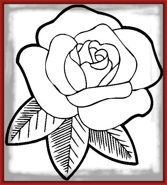 Resultado de imagen para rosas para dibujar | carmen en 2018 ...
