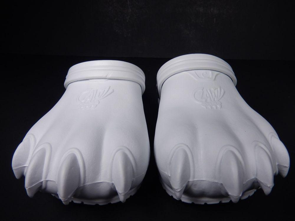 Clawz Kids Clogs Shoes Size C13/J1 White   $22.97                      3431 #Clawz