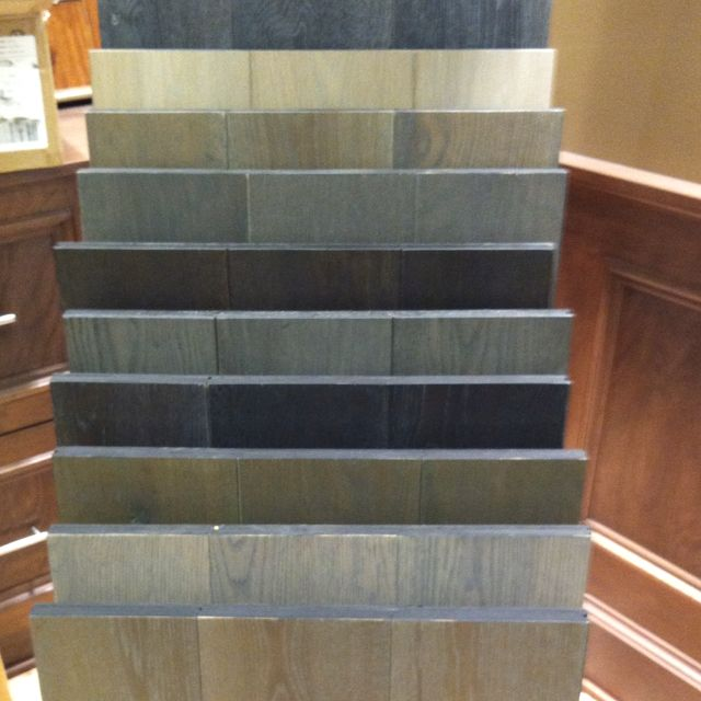 How much grey hardwood flooring from WD can you handle All these