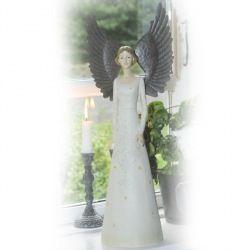 Flot Stor Engel Find inspiration til Julepynt, engle, nisser, julekugler og julegaver på www.galleri-hebe.dk