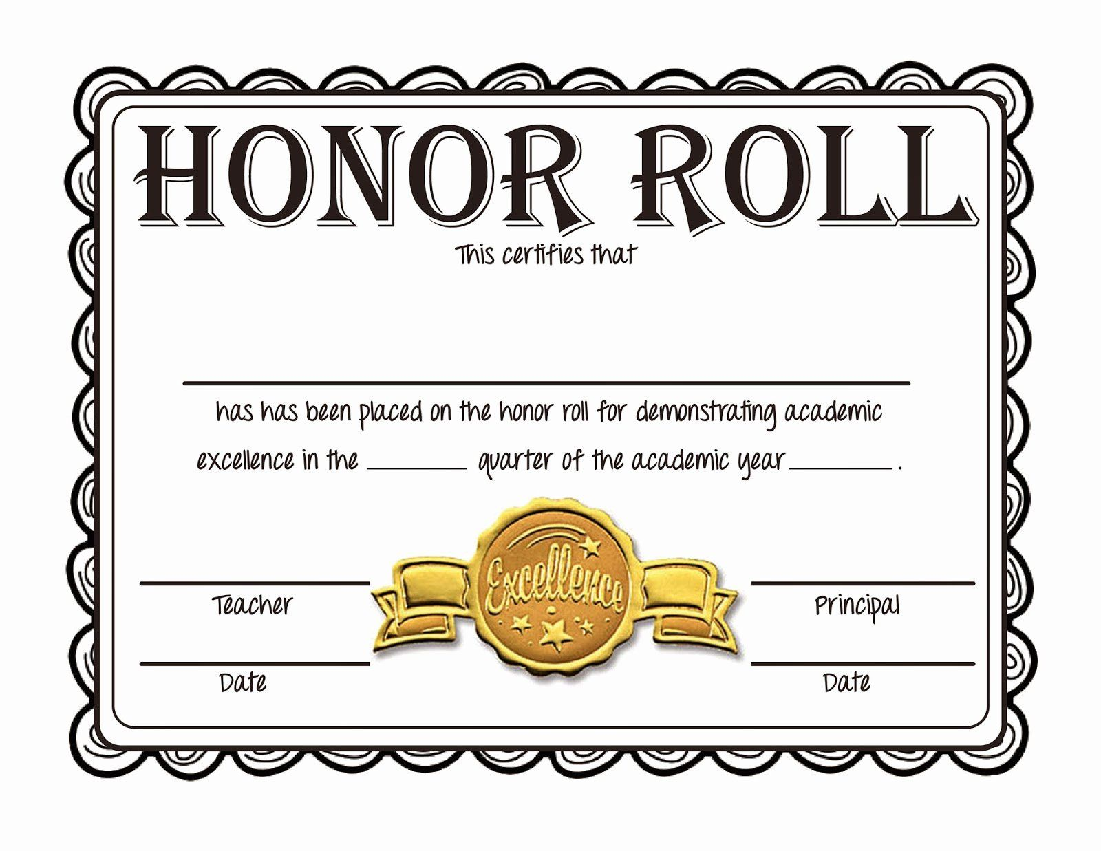Ab Honor Roll Certificate Template Elegant Steve S Classroom New Freebie Honor Roll Certificates Certificate Templates Honor Roll Awards Certificates Template All a honor roll certificate