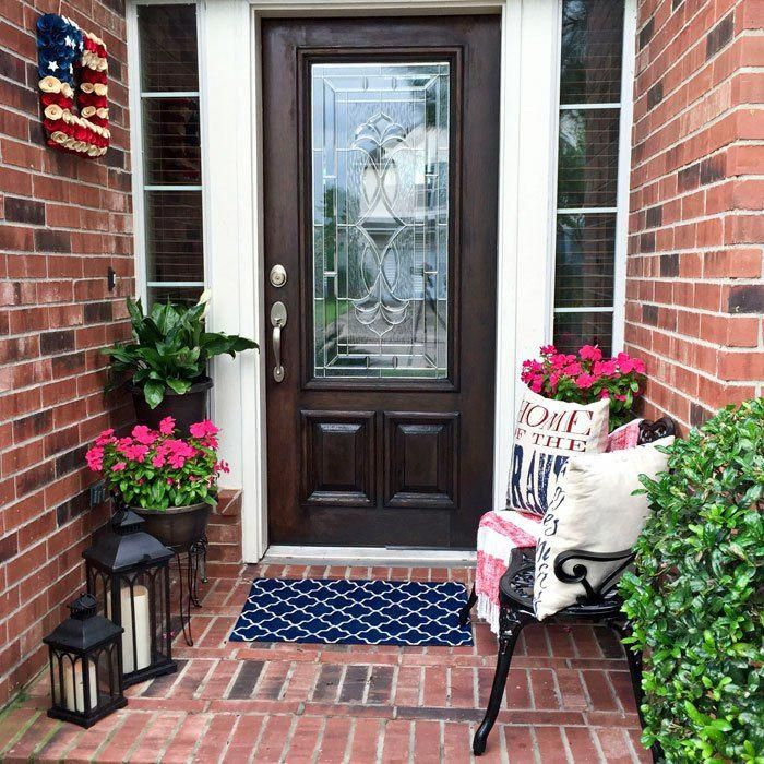 Small Front Porch Decorating Ideas For Summer Outdoor Living