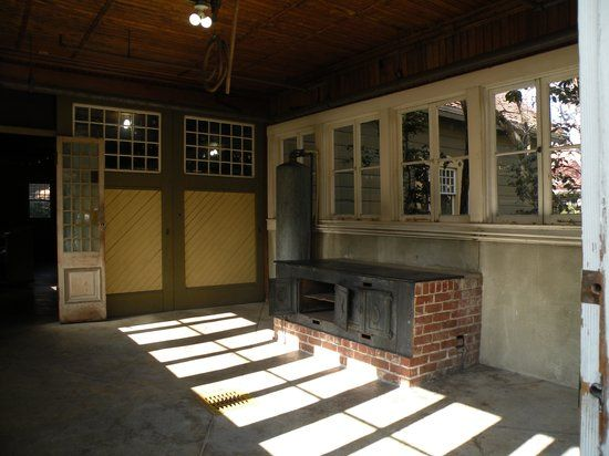 Inside The Car Wash Shed Picture Of Winchester Mystery House The Elegant Winchester