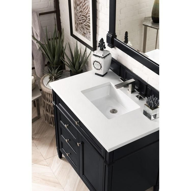 36 In 2020 Black Vanity Bathroom Vanity Tops With Sink Single Bathroom Vanity