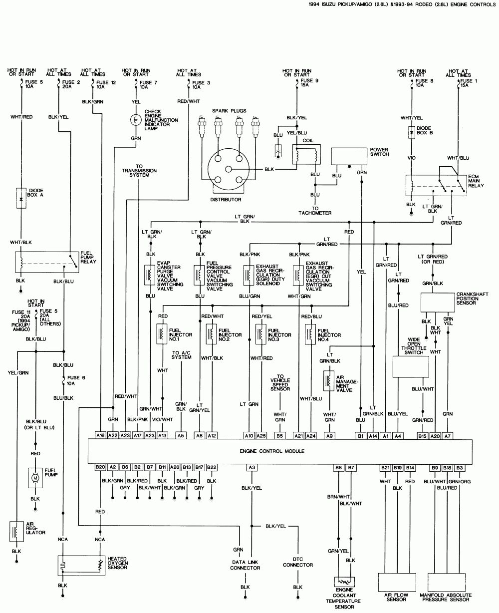 isuzu electrical wiring diagram set wiring diagram database electrical wiring diagram isuzu panther [ 1000 x 1228 Pixel ]