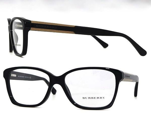 da78df2eb8 BURBERRY NEW BLACK PLASTIC MEN RX EYEGLASSES B 2121