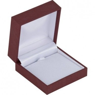 Burgundy Linden Collection Pendant Box...(ST61-9453:100001:T).! Price: $12.99 #pendantbox #jewelrybox