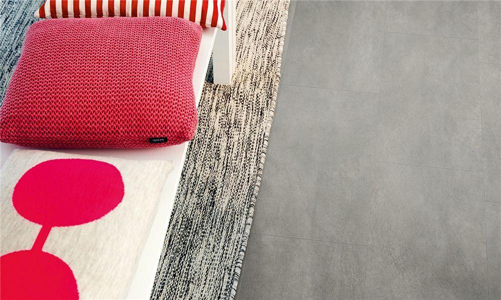 V2120 40051 pergo vinyl steinoptik premium klick beton dunkelgrau