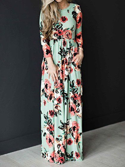 1f3d36c3e Ecstatic Harmony White Floral Print Maxi Dress