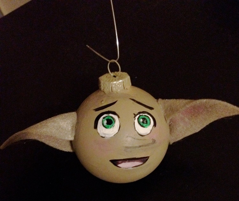 Dobby Glass Ornament. $10.00, via Etsy.   holiday themes   Pinterest ...