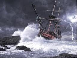 Barco em Tempestade / jahsaude