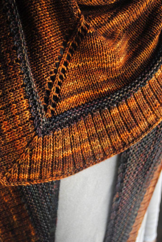Flamboyan pattern by Stephen West | Pinterest | Tücher und Stricken