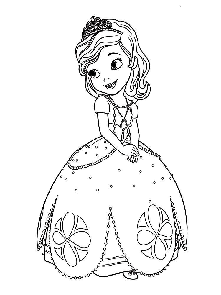Dibujos de La Princesa Sofia para colorear, dibujos disney | Para ...
