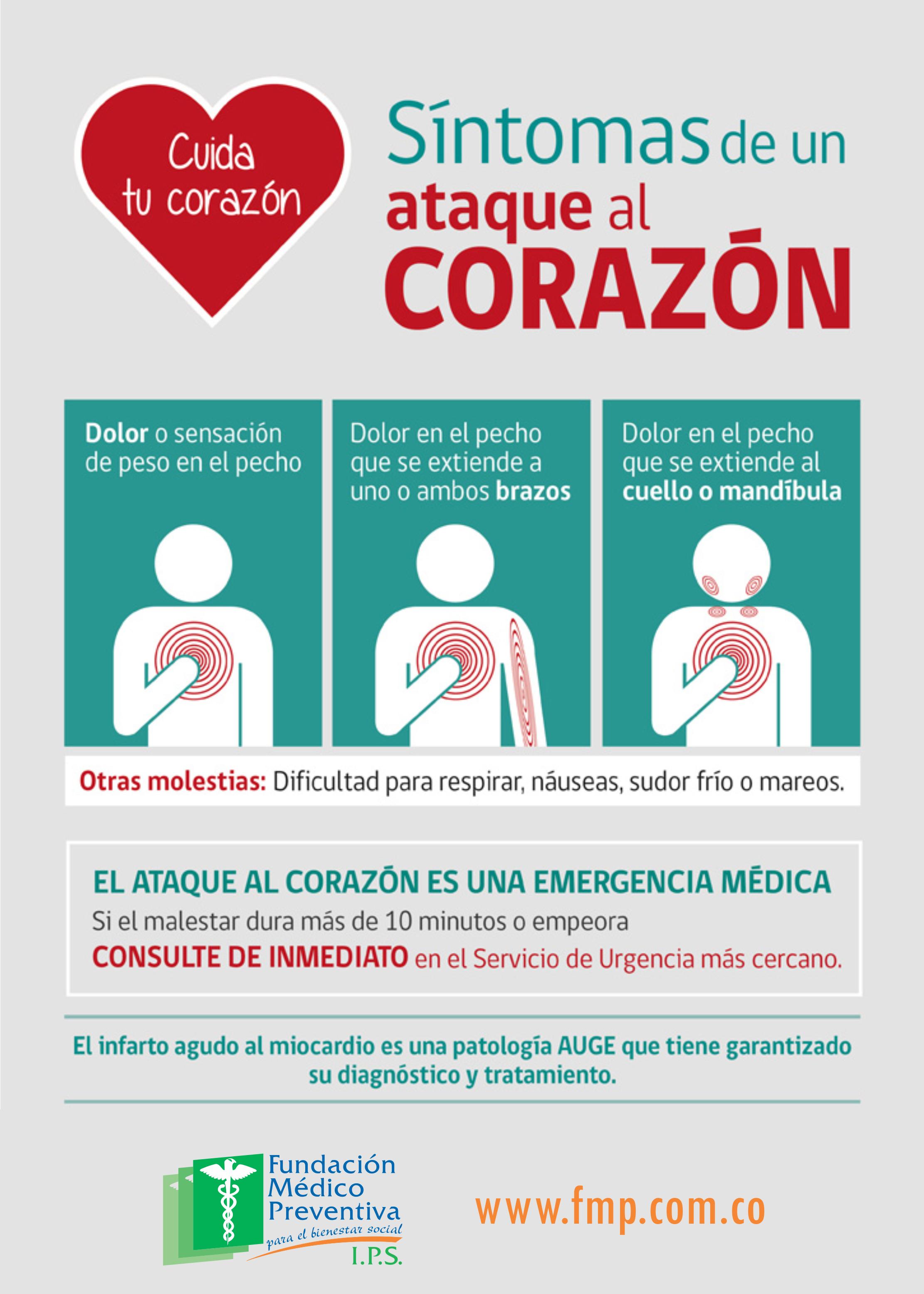 Sintomas #Salud #Ataque #Corazon #Cardiologia | Recetas y malabares ...