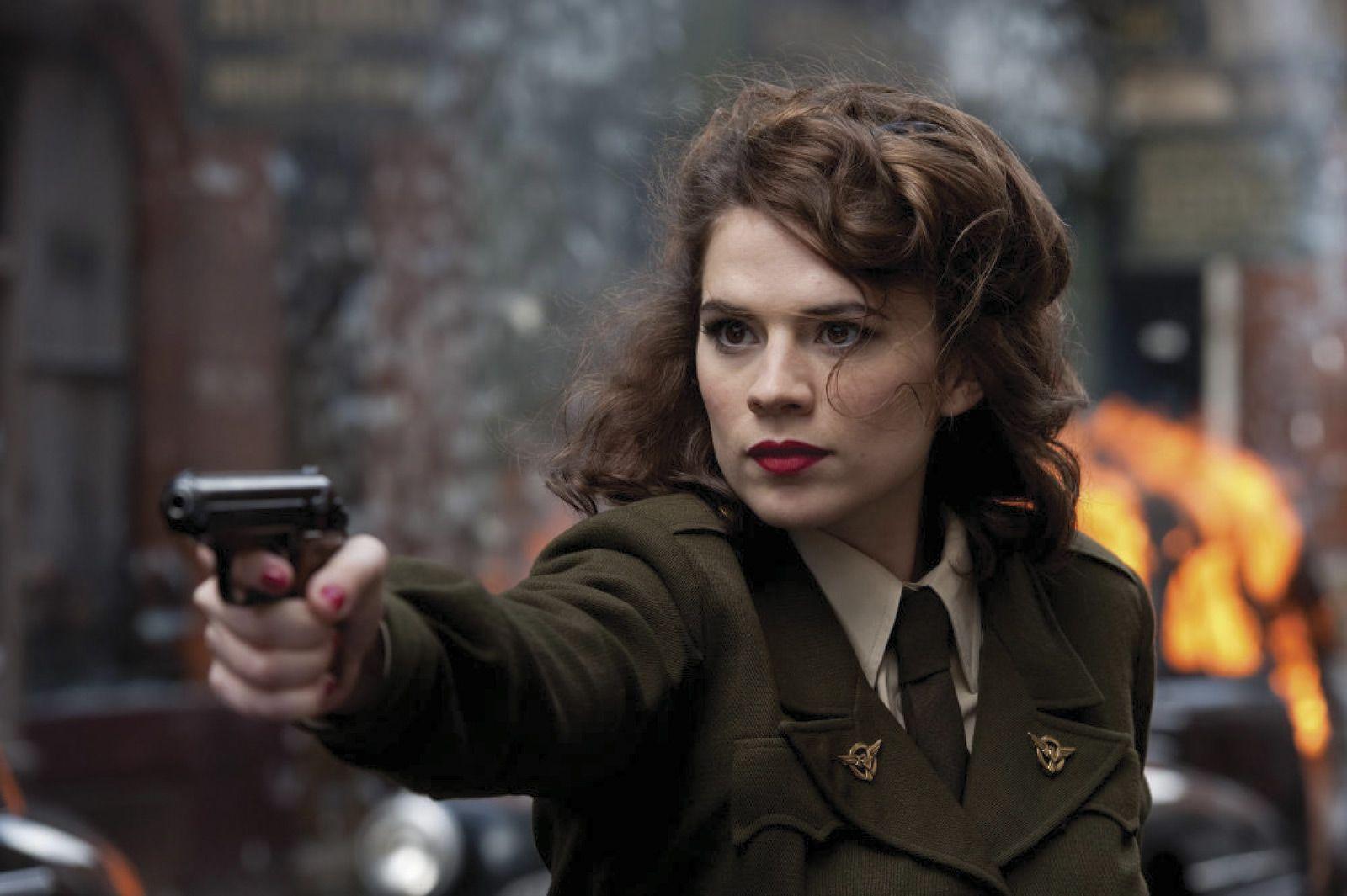Peggy Barnes Captain America