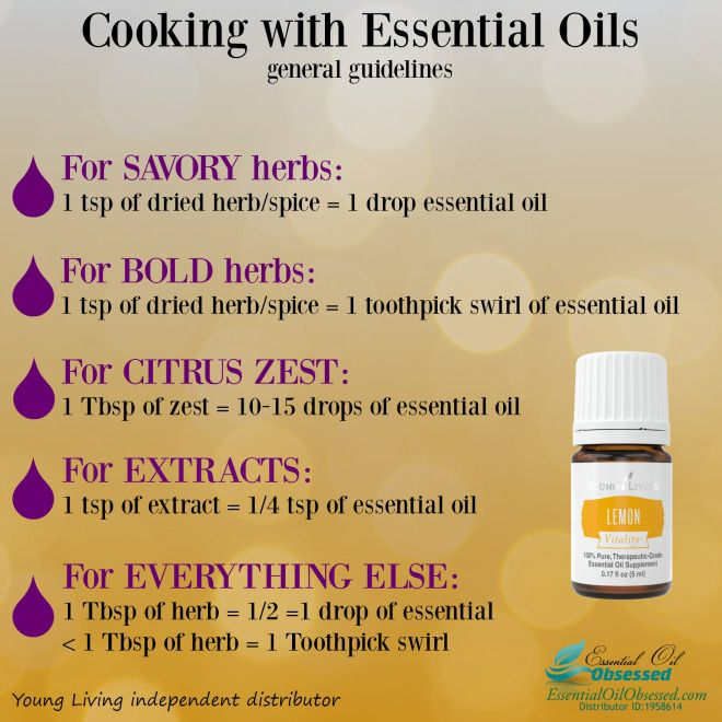 Cooking essential oil obsessed love pinterest oils young living and with also rh