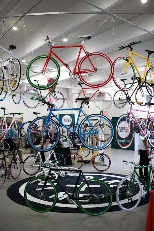Bike Shows An Art Exhibition And A Milestone Bicycle Design