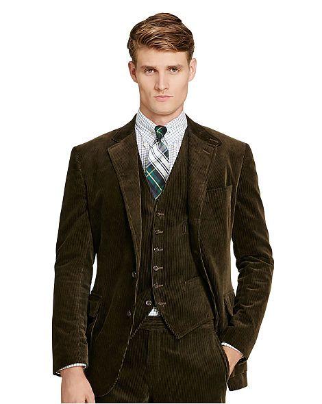 cea7ed062e5652 Morgan Corduroy Suit Jacket - Polo Ralph Lauren | GQ in 2019 ...