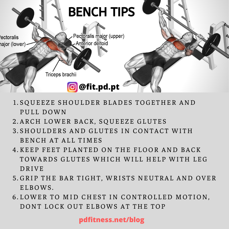 Bench Press Tips Workout For Flat Stomach Bench Press Stomach Workout
