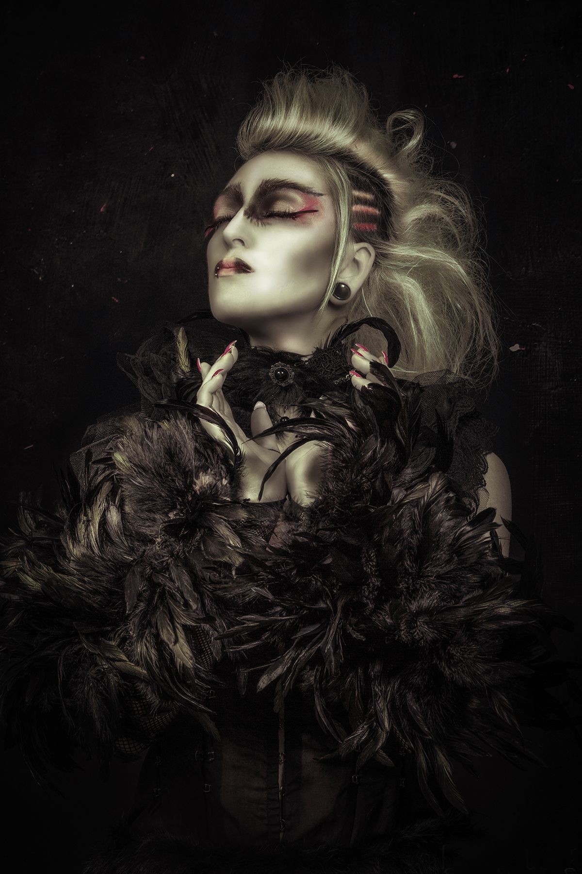 Photographer: Robert MK Haddoni Makeup: Zioe Hill Model: Paige Hamel
