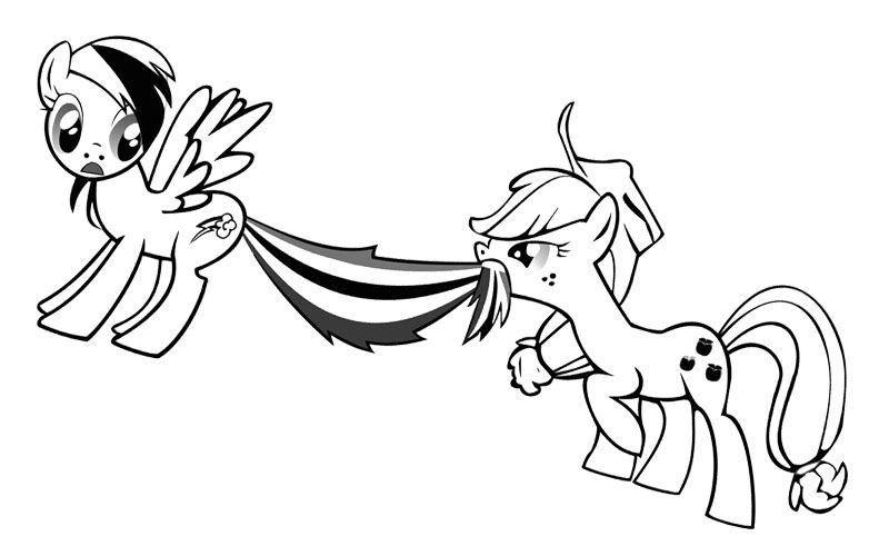Baby Celestia My Little Pony Coloring Page