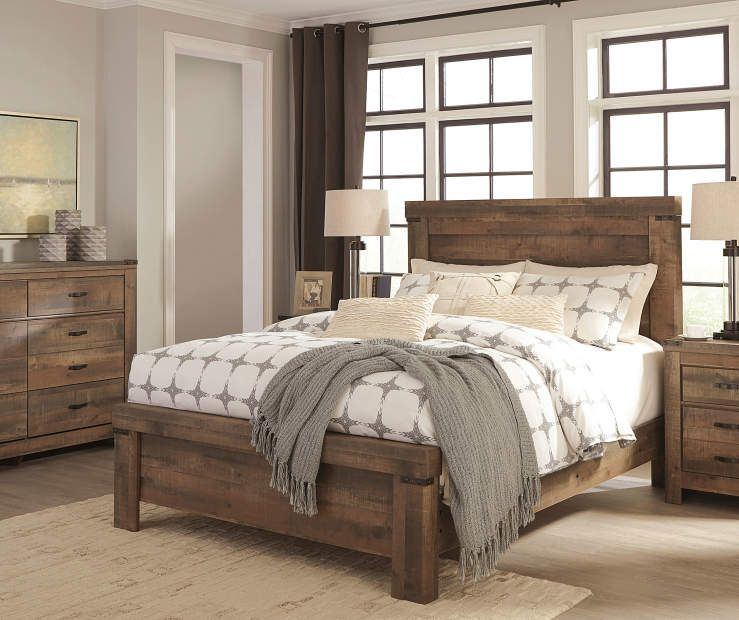 I found a Signature Design by Ashley Trinell Queen Bedroom ...