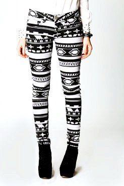 Girls White Leggings - Trendy Clothes