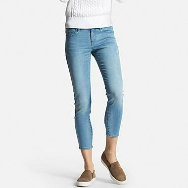 Women's Ultra Stretch Ankle Jeans