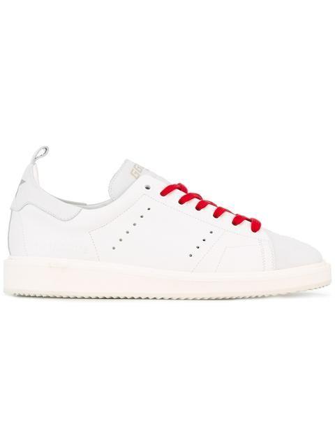 White Pink Metallic Starter sneakers Golden Goose bNyq6
